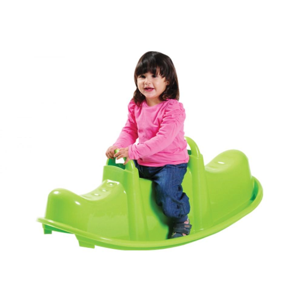 Balansoar Copii Trufi Din Plastic Trio Verde Trambulinesparta Ro