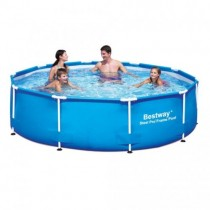 Piscina Bestway cadru metalic rotunda 305 x 76 cm
