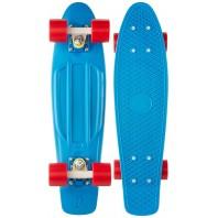 Penny board Strike, 60cm, sustine 100 kg, Albastru