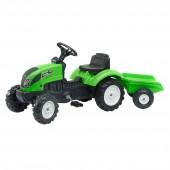 Tractor Falke Garden Master verde 123x42x53cm