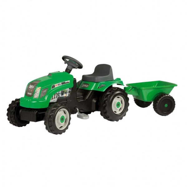 Tractor Falke XL 143x45x52cm, verde