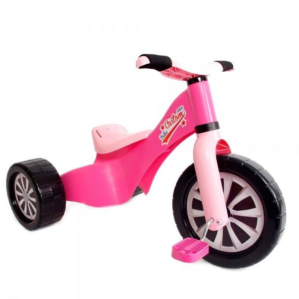 Tricicleta copii Palau din plastic Roz